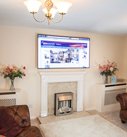 tv wall mounting Bibury